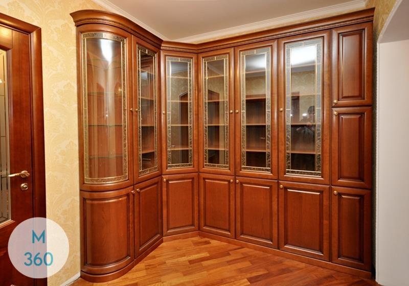 Угловой книжный шкаф Бухарест Арт 000129192