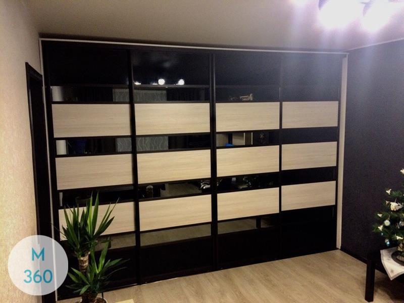 Шкаф-купе стеклянные двери Мульти Арт 000142078