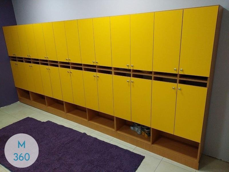 Шкаф для детских раздевалок Сеул Арт 000244394