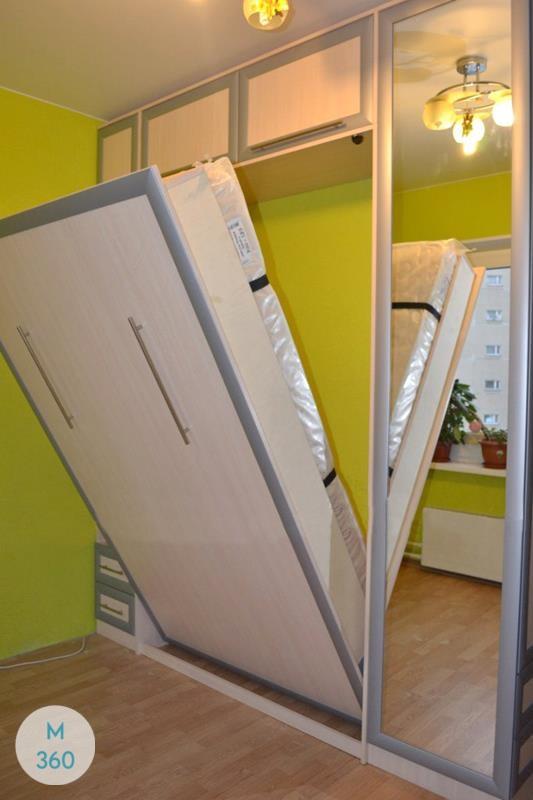 Двуспальный шкаф кровать Гиацинт Арт 000339260