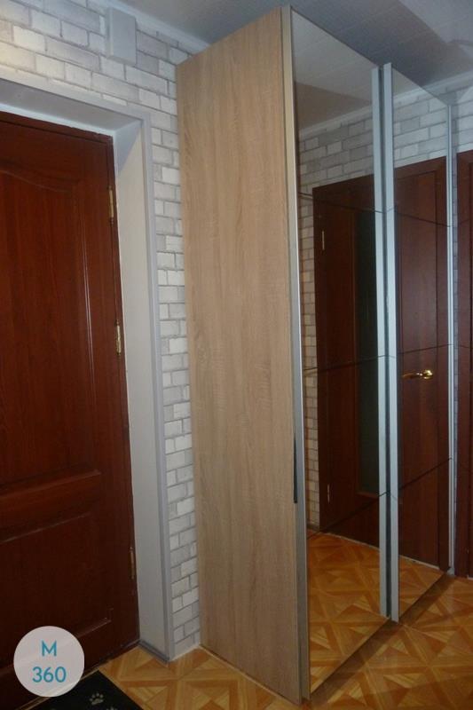 Узкий гардеробный шкаф Бруней Арт 000360144