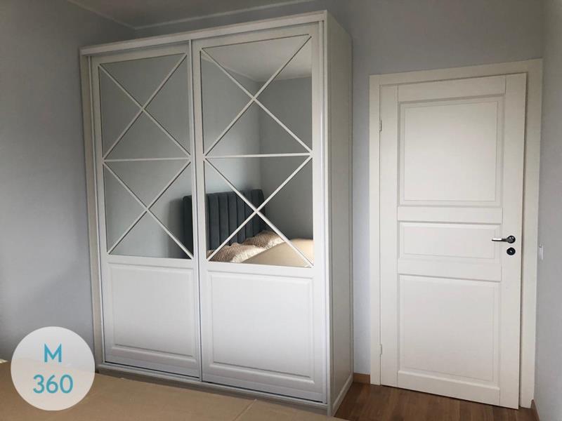 Шкаф с фацетными зеркалами Локьер Арт 000553716