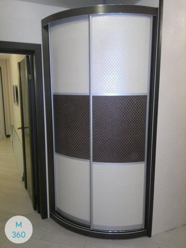 Угловой радиусный шкаф Манила Арт 000563582
