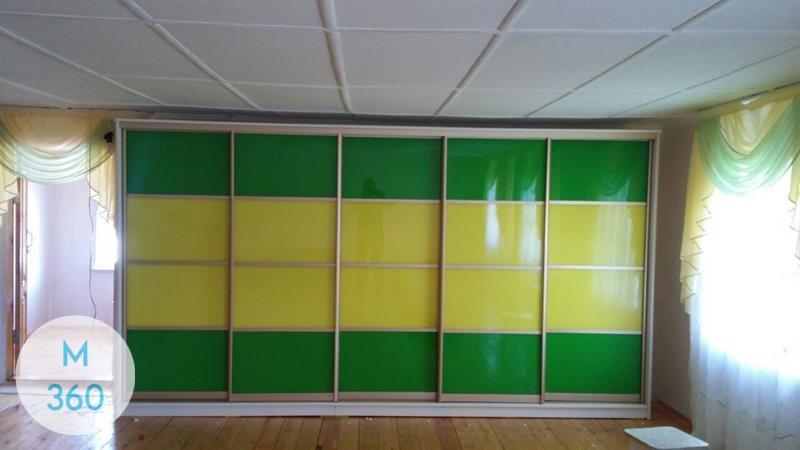Зеленый шкаф купе Братск Арт 000656629