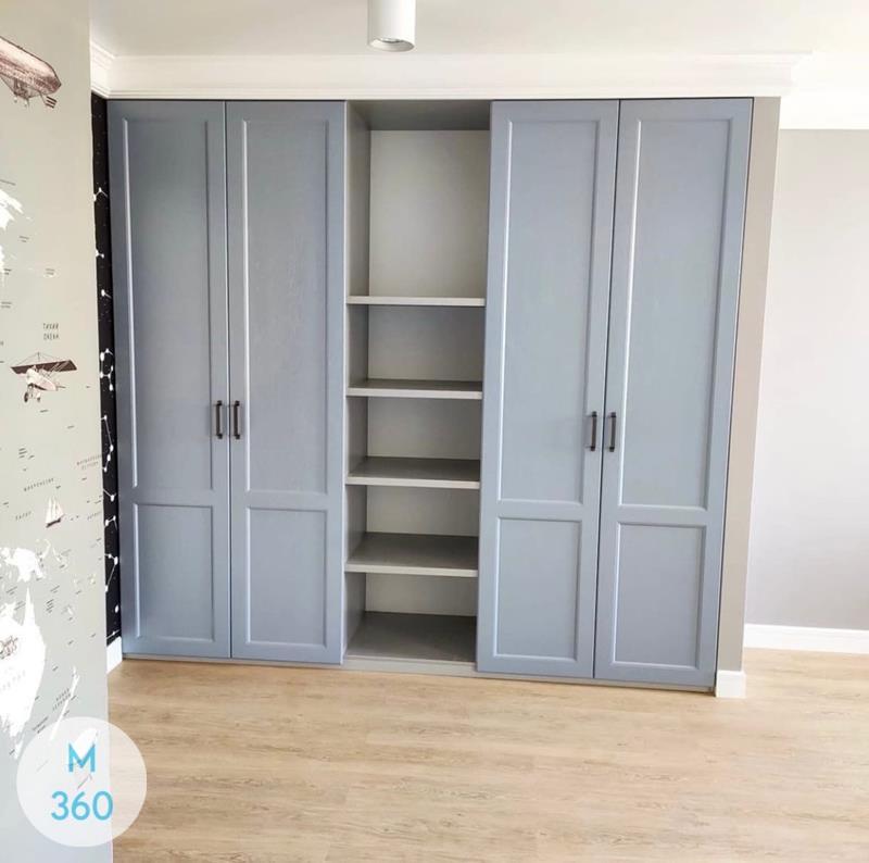 Распашной шкаф с ящиками Падуя Арт 000792628