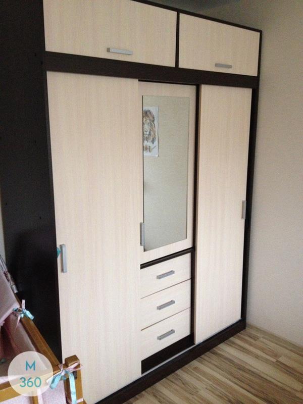 Шкаф с фацетными зеркалами Солидаго Арт 000839900