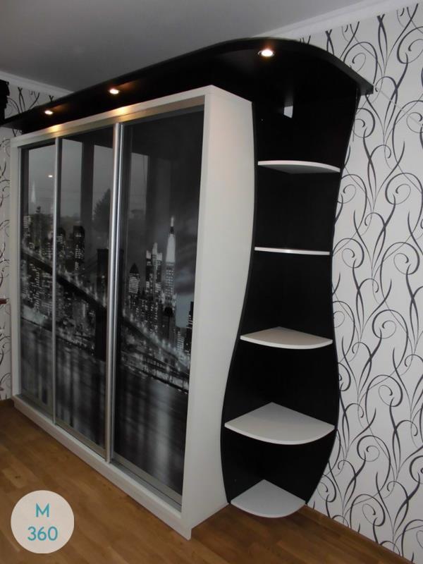Шкаф с подсветкой Прага Арт 000901181