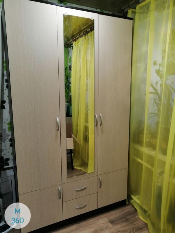 Шкаф с боковым зеркалом Сакура Арт 001302592