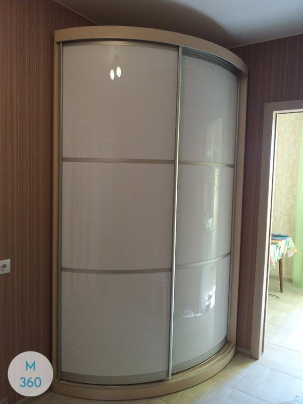 Угловой радиусный шкаф Концепт Арт 001337803