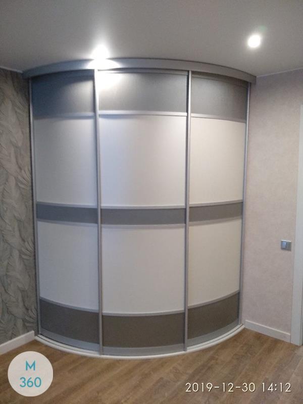 Угловой радиусный шкаф Монстера Арт 001929066