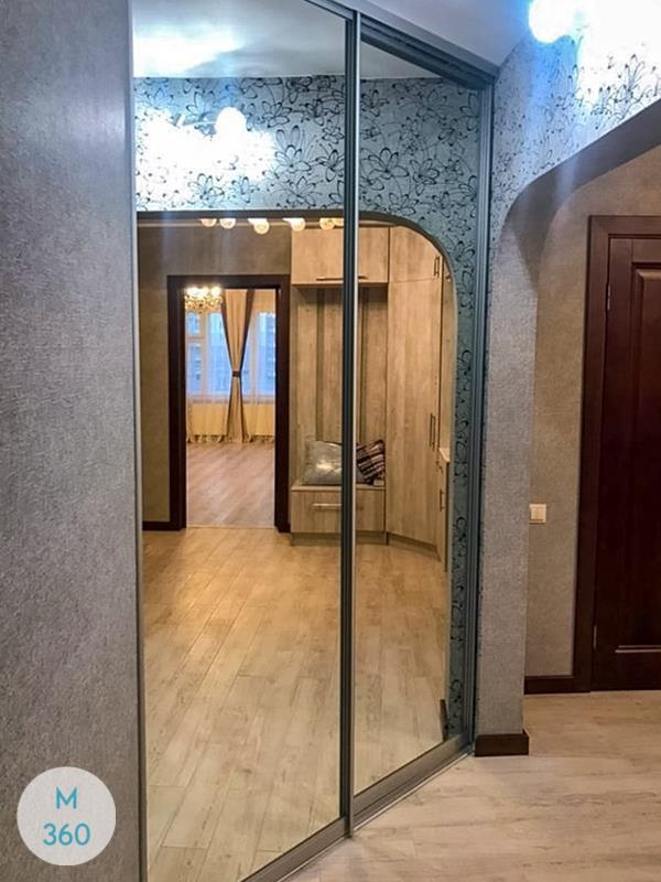 Зеркальная дверь купе Науру Арт 002049763