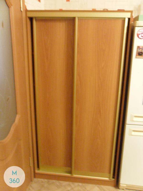Оранжевый шкаф купе Самоа Арт 002081608