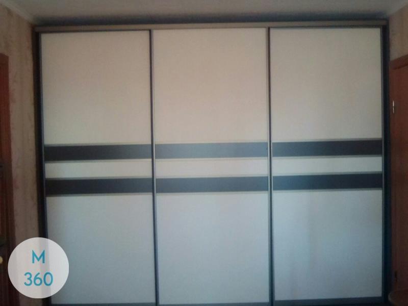 Серый шкаф купе Бордо Арт 002607694