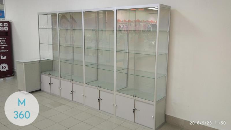Шкаф со стеклом Вальядолид Арт 002611765