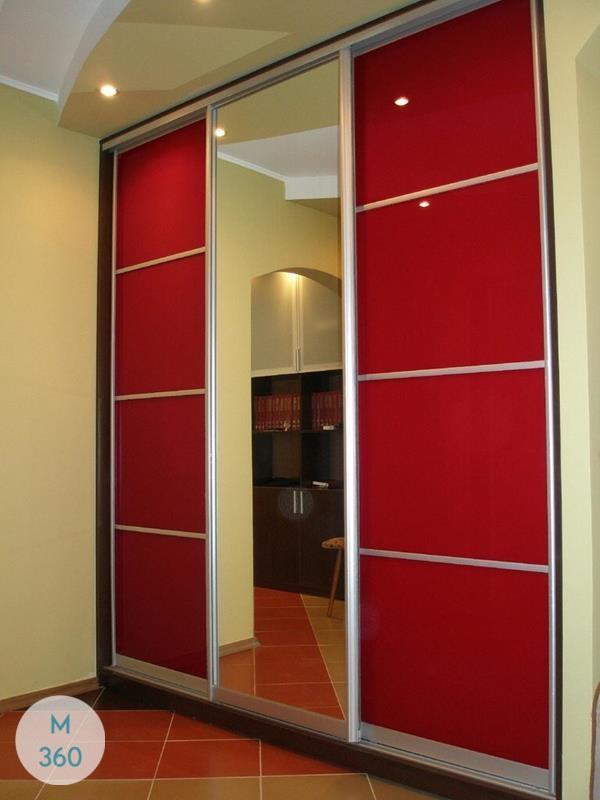 Красный шкаф Муассан Арт 002877639