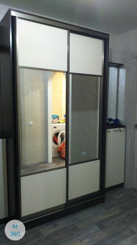 Шкаф с боковым зеркалом Род-Айленд Арт 003155874