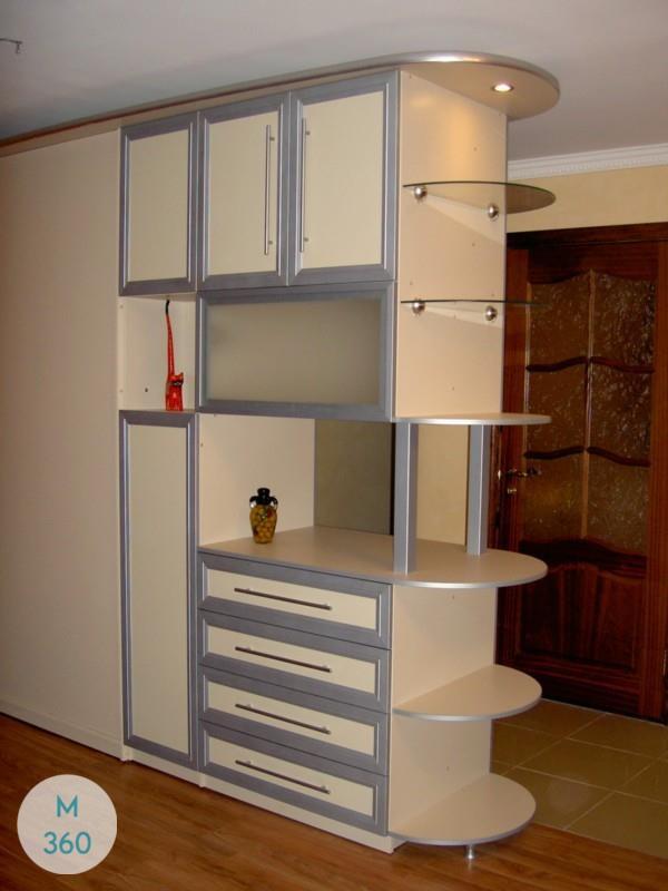 Шкаф со стеклом Оливер Арт 003506940