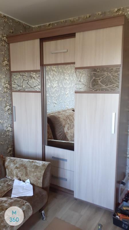 Шкаф с фацетными зеркалами Лейпциг Арт 003740186