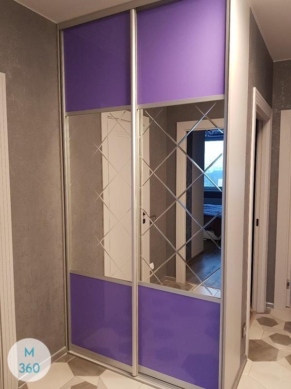 Фиолетовый шкаф купе Казахстан Арт 003771115