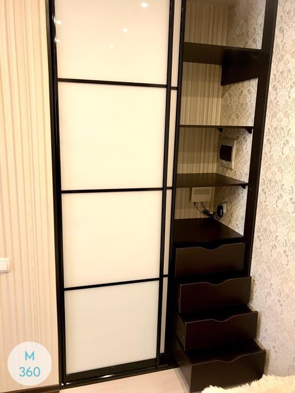 Узкий гардеробный шкаф Тигр Арт 004023275