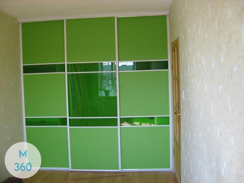 Зеленый шкаф купе Казань Арт 004074053
