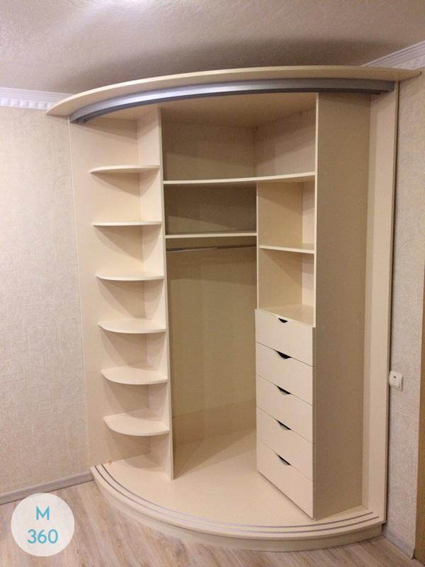 Угловой радиусный шкаф Урсула Арт 004192782