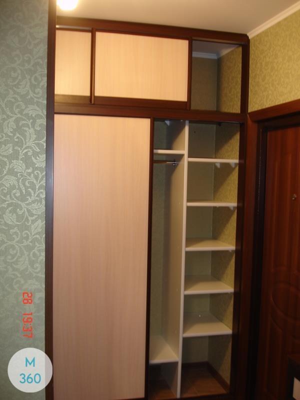 Одностворчатый шкаф купе Альберто Арт 004223074