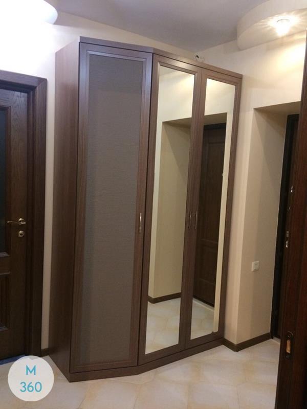 Шкаф с фацетными зеркалами Уэлс Арт 004550777