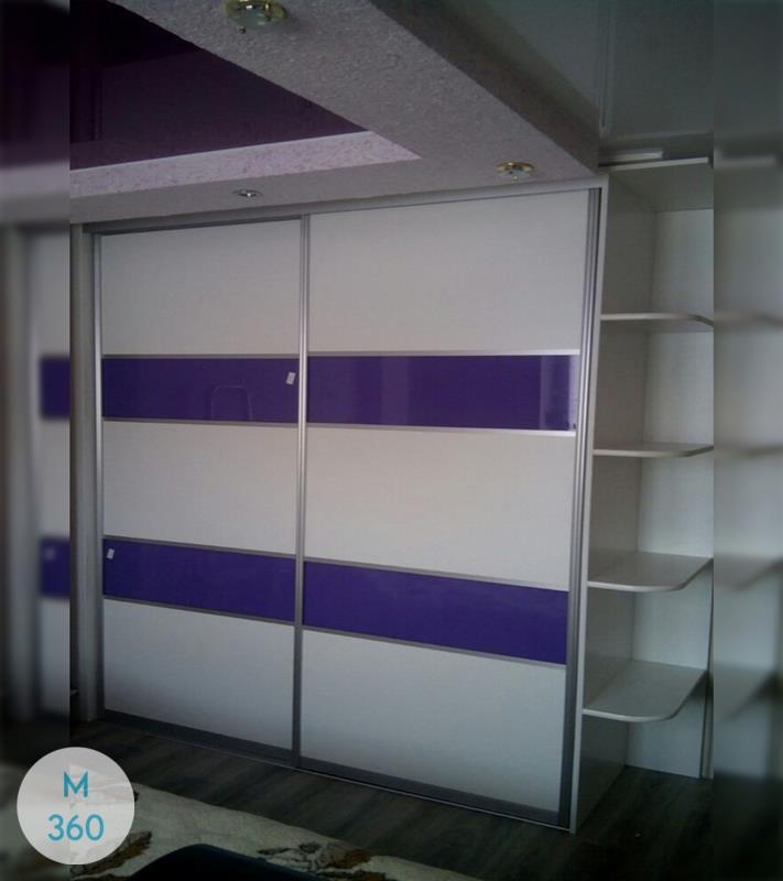 Фиолетовый шкаф купе Целозия Арт 004572610