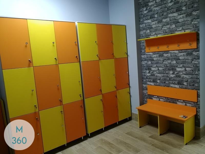 Желтый шкаф Чад Арт 004649992