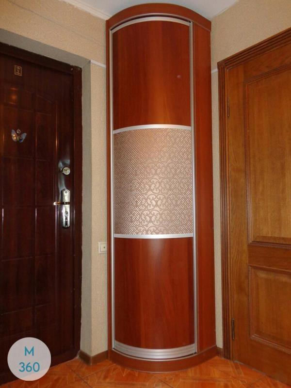 Выпуклый радиусный шкаф Капуас Арт 004879097