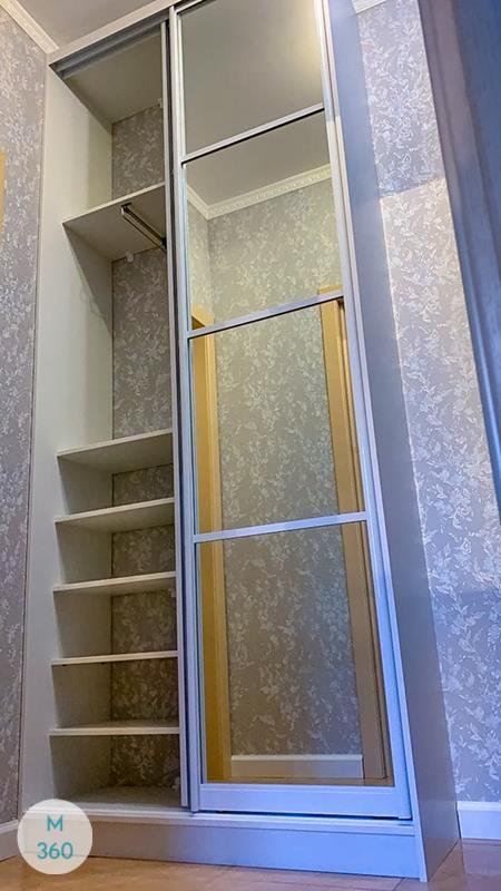 Узкий гардеробный шкаф Дания Арт 004955944