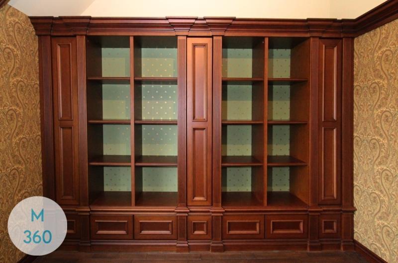 Выдвижной книжный шкаф Алана Арт 004975053