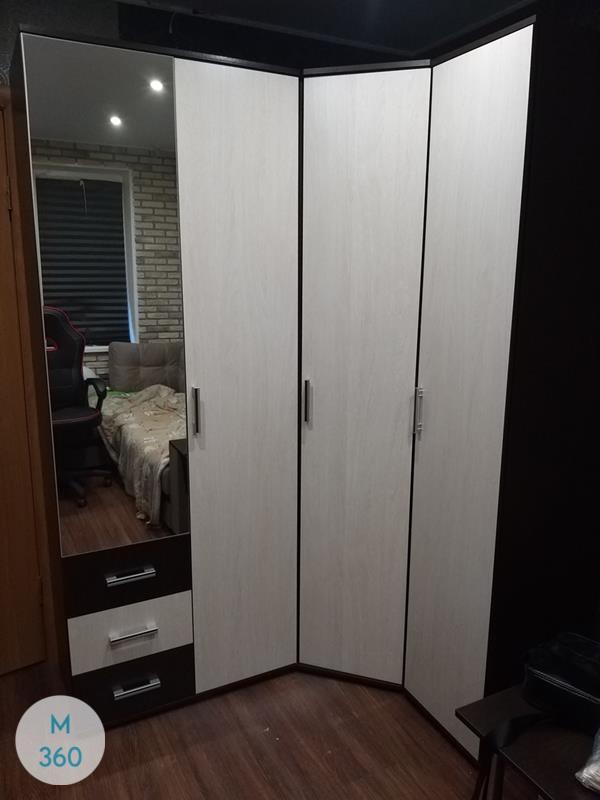 Шкаф с боковым зеркалом Штромейер Арт 005085894