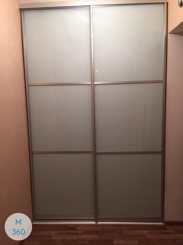 Серый шкаф купе Мюнхен Арт 005206583