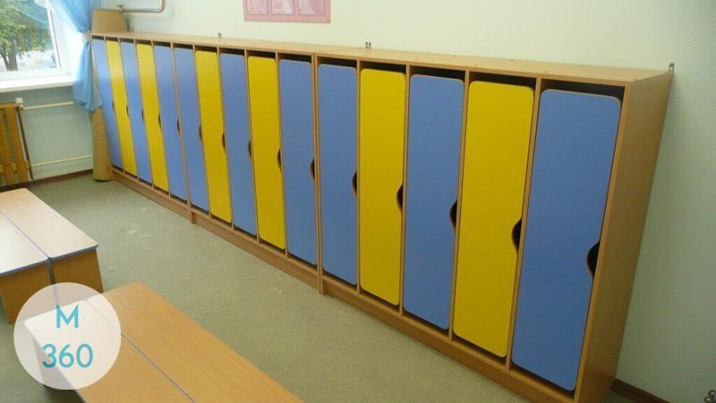 Шкаф для детских раздевалок Перу Арт 005398374