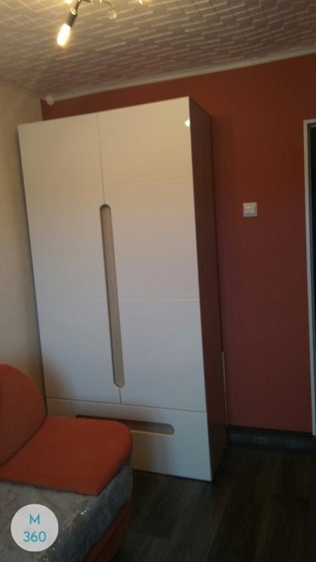 Распашной глянцевый шкаф Буджардини Арт 005467338