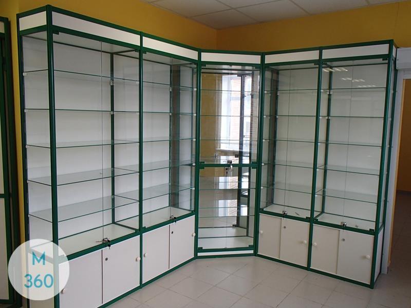 Шкаф со стеклом Маннгейм Арт 005469763