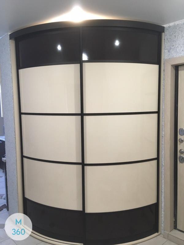 Угловой радиусный шкаф Могадишо Арт 005528876