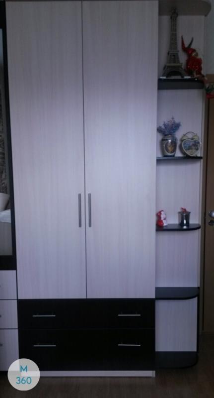 Радиусный шкаф с зеркалом Брест Арт 005607782