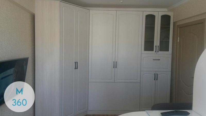 Встроенный шкаф с распашными дверями Порт-Сент-Люси Арт 005791303