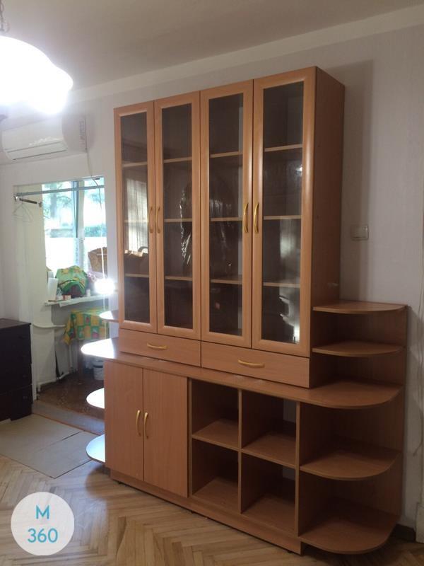 Книжный шкаф со стеклянными дверцами Эмма Арт 005821007