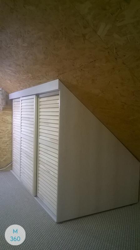 Шкаф купе с жалюзийными дверцами Модесто Арт 005862018