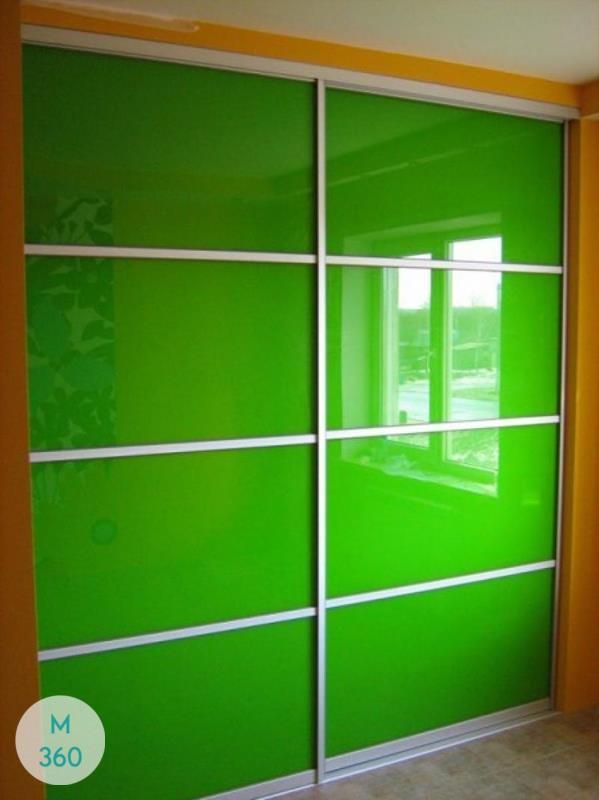 Зеленый шкаф купе Литва Арт 006056933