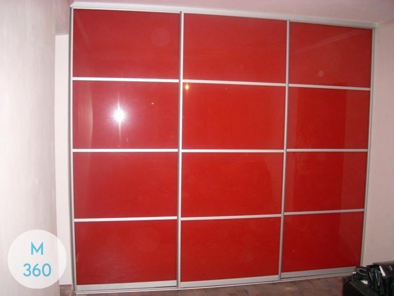 Красный шкаф Аккра Арт 006173712