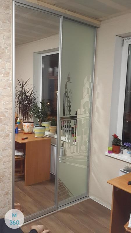 Зеркальная дверь купе Эсватини Арт 006229111