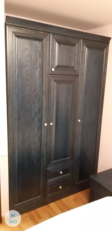Черный распашной шкаф Хлопок Арт 006513051