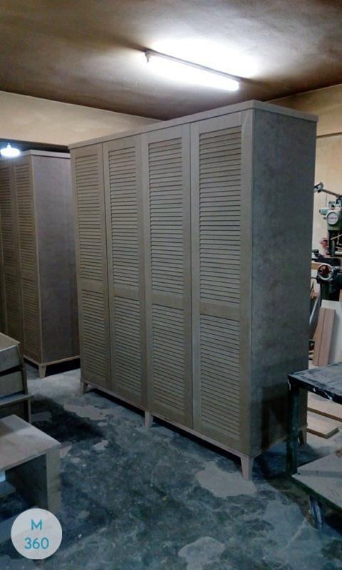 Шкаф купе с жалюзийными дверцами Мидленд Арт 006622214