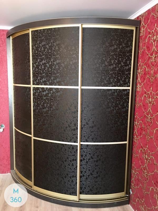 Угловой радиусный шкаф Акрон Арт 006863244
