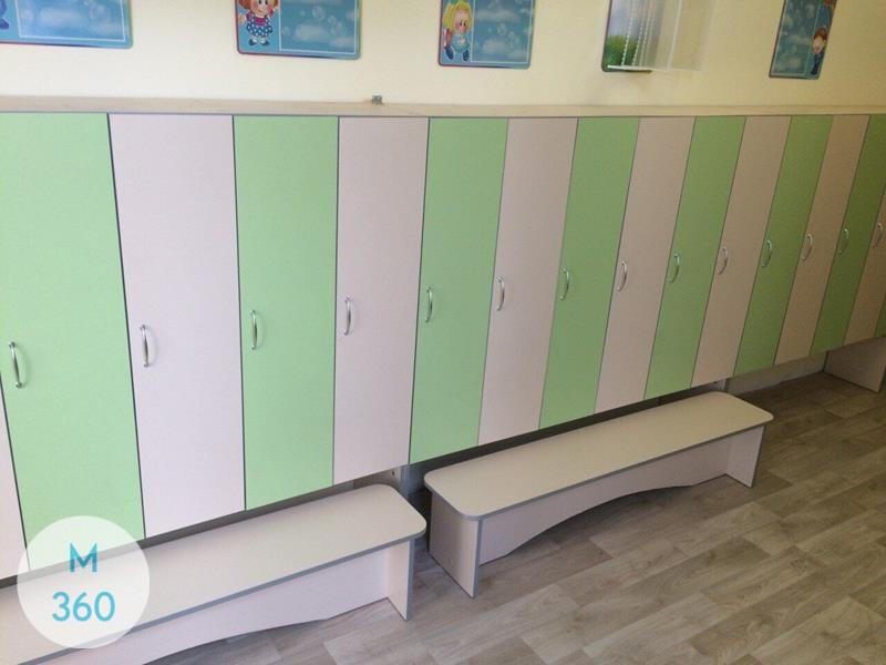 Шкаф для детских раздевалок Фортуна Арт 006870886
